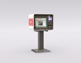3D model realtime Newspaper Machine