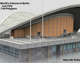 game-ready House of the Worlds Cultures in Berlin 3D Model
