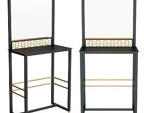 Desk for makeup artist 3D model