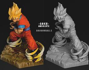 3D model GOKU SS ABSOLUTE