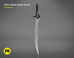 3D printable model Alita Damascus Blade Sword