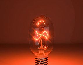 Tungsten lamp model-12 3D