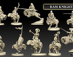 3D print model Ram Knights Megapack