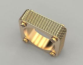 3D print model Square Ring