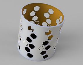 3D print model Portalapiz Pencil holder
