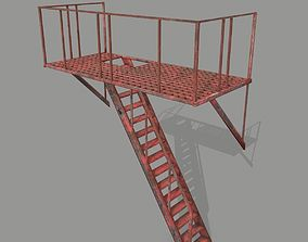 Fire Escape 3D asset realtime