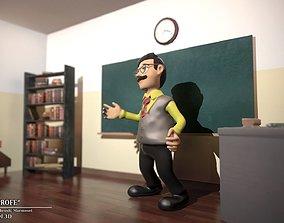 3D model THE TEACHER