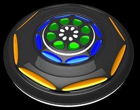 UFO The Explorer 3D model space