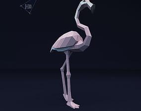 3D print model Flamingo