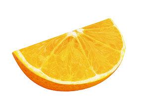 3D model orangeslice Orange slice