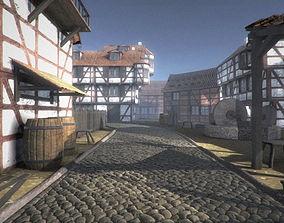 3D asset Framework Village