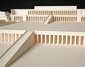 Egyptian Queen Hatshepsut Temple 3D printable model