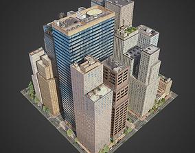 City District C7-C20 downtown 3D model