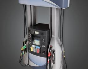 3D asset Gas Pump - SAM - PBR Game Ready