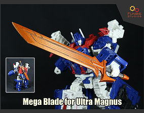 Mega Blade for Transformers Ultra Magnus 3D print model