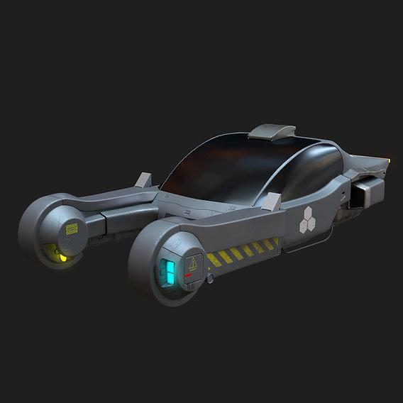 Cyberpunk Vehicle