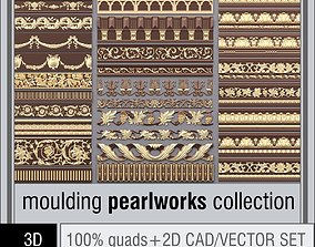 Pearlworks moulding collection 3D