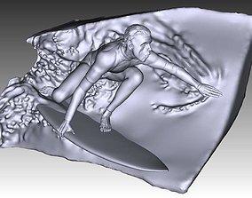 Australian Surfer 3D printable model