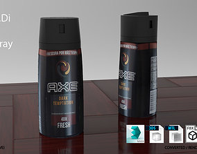 Axe Spray Bottle 3D model