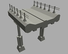 3D model Overpass - Game Ready