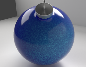 Christmas Ornament Ball 11 3D model