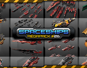 Spaceships Megapack 06 rts 3D
