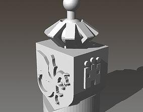 3D print model Influence Marker for Lisboa Boardgame