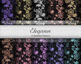 3D Elegance Seamless Textures Set