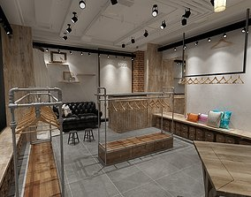3D Clothing Store 3