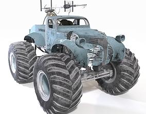 Bigfoot monster truck 3D