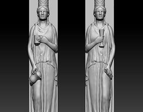 statue Caryatids 3D