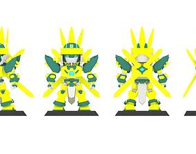 Super Mecha 6 - Dhays of Code Name 1C4YK - 3D Print