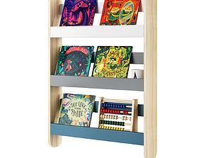 3D Essentials Spark Book Shelving by Made