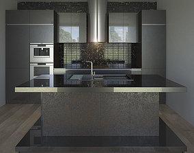 3D model Kitchen Furniture VII