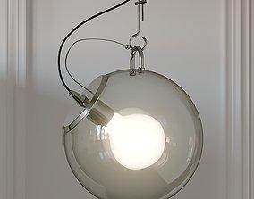 3D Nordic Style Wide Glass Miconos Suspension