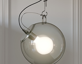 3D Nordic Style Wide Glass Miconos Suspension Lamp