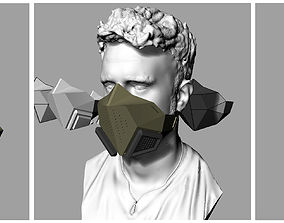 3D print model Half Mask Airsoft
