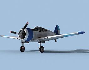 3D model Curtiss H-75C Mohawk V15 Argentina