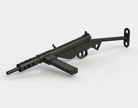 3D printable model Sten MKIII 1-6 scale