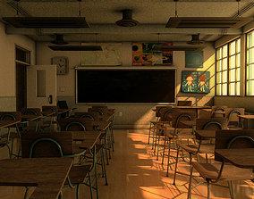 School Classroom 3D