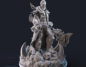 3D printable model Necromancer STL 75 mm