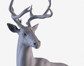 Deer Statue 3D printable model