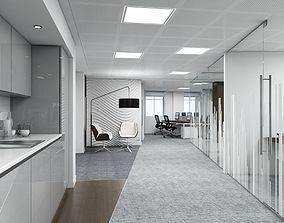 3D model corporate Full Office Interior