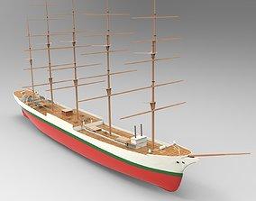 3D Cutty Sark Ship