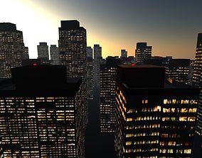 3D asset City Blocks Free