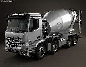 Mercedes-Benz Arocs Mixer Truck 2013 3D model