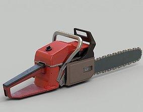 Chainsaw 01 3D asset