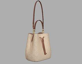 Louis Vuitton Neonoe MM Bag Monogram Empreinte 3D model 1