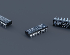 3D model Integrated Chip
