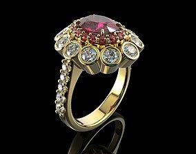 rings 3D printable model Gold N713